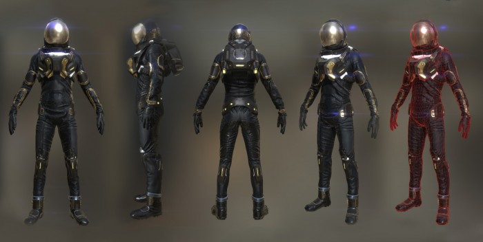 Suit for Alpha. iPad interactive movie in Unity