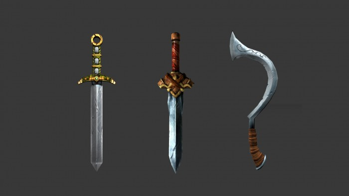 Weapon props